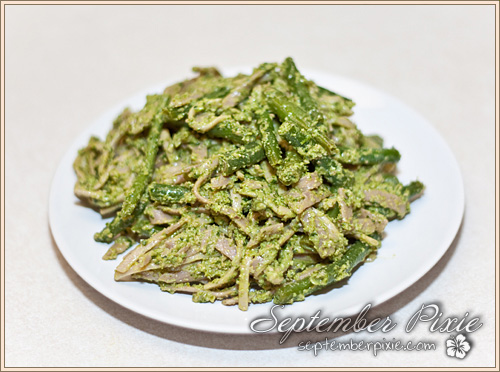 greenbeanpesto